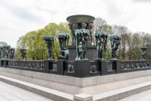 Vannet i Gustav Vigelands Fontene skrus av midlertidig