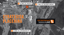 Premiär för Entreprenad Live Stockholm 2017 (OBS! Korrigerad datum, 24-26 augusti 2017 från gårdagens pressinfo.)