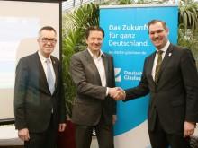 Gewerbegebiet bald mit Gigabit-Geschwindigkeit: Deutsche Glasfaser und die Gemeinde informierten Krifteler Unternehmer über Chancen des Glasfasernetzes