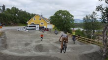 Pumptrack byggs i Hovshaga centrum