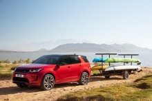 Land Rover Discovery Sport uppdateres
