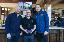 Edinburgh publican wins BT Sport award for being at the hearts of the community