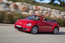 Volkswagen öppnar upp för nya Beetle Cabriolet