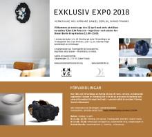 Exklusiv Expo 2018 på Daniel Berlin krog: Inbjudan till vernissage och föredrag
