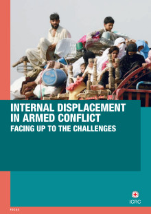 Rapport: Internal deplacement in armed conflict – facing up to challenges