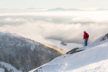 The ski capital of Sweden just got closer