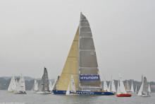 En av världens största segelbåtar till Göteborg idag, sedan vidare mot Varberg och Halmstad