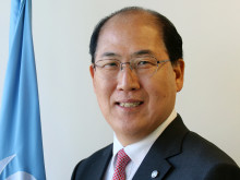​Kitack Lim, Secretary General the International Maritime Organisation speaks at Arctic Frontiers Policy 2017