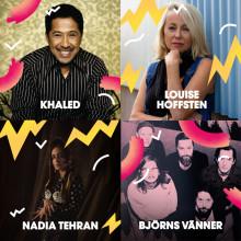 Arabisk dansmusik, folkvisor, indiepop och allsång i Malmöfestivalens fjärde musiksläpp!