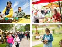 Trädgårdsdag i Karlslund 20 maj