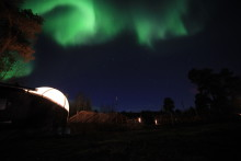 Enjoy the Northern Lights in Extraordinary Settings in Finnish Lapland