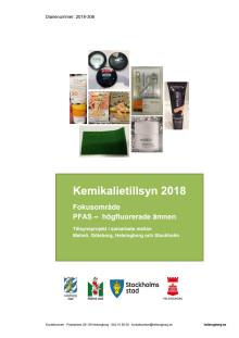 Rapport: Kemikalietillsyn 2018 - fokusområde PFAS