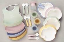 Barnens köksfavoriter från BabyBjörn i nya underbara färger - pastellfärgade drömmar