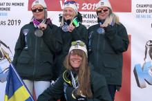 Historisk svensk dubbel på VM i speedski