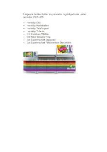 I följande butiker hittar du picadelis regnbågsdiskar