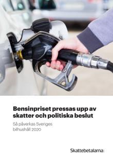 Bensinpriset pressas upp av skatter och politiska beslut