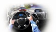 I dodávky už umějí samy brzdit před chodcem! Ford zavádí tuto technologii do řady Transit