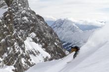 Ski på Tysklands høyeste fjell like ved Garmisch Partenkirchen