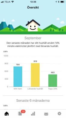 Greenely och Svensk Fastighetsförmedling gör hemmet mer energismart