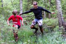 Premiär för Family Outdoor Race