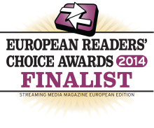 Xstream Finalist in several categories for the Streaming Media Readers choice award