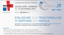 """Einladung zu """"Meet IT der Club"""" - Kommen Sie mit Ihrer VIP-/Entscheider-Karte zu der Digitalisierungsveranstaltung der Gesundheitswirtschaft im November !"""