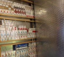 Illicit tobacco and alcohol seized in Bolton