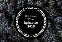 Wineworld nominerade i Årets Nyhetsrum 2015!