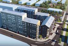 Tornstaden bygger för Riksbyggen i Mölndals innerstad