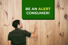 Be an Alert Consumer!