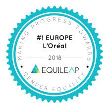 Ligestilling på agendaen i virksomheder i Europa - L'Oréal nr. 1
