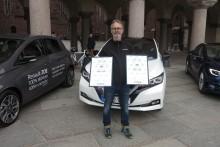 Nissan Leaf är Miljöbästa Bil 2018