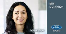 Min motivation: ​Et portræt af Sabrina Elouni, Parts Supply & Distribution Coordinator hos Ford Danmark