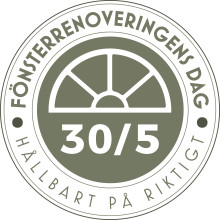 Fönsterrenoveringens dag den 30 maj