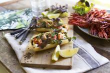 Lobster rolls i nya varianter till kräftskivan