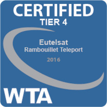 Eutelsat erhält als Erster weltweit das neue Qualitätszertifikat der World Teleport Association (WTA)