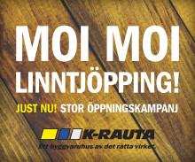 K-rauta öppnar nytt varuhus i Linköping