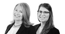OnePartnerGroup etablerar kontor i Kalmar med Annika Lundberg och Sofia Nyberg