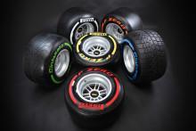Pirelli väljer däck för de första fyra F1-racen 2013
