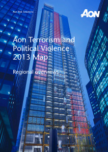 Aon Terrorism and Political Violence Map 2013 - Regional overviews