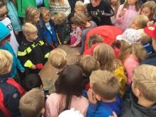 Hundra första spadtag av Ranstas nya skola