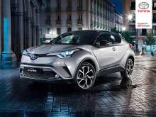Opplev nyheten Toyota C-HR på Sjøsiden Kjøpesenter, Mosjøen