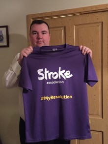 ​Alcester stroke survivor takes on Resolution Run for the Stroke Association