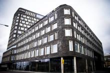 Atrium och Skybar mot Öresund i nya Studio