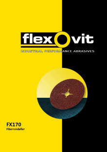Broschyr Flexovit FX170 fiberrondeller