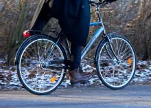 Cykla säkert och bekvämt trots mörker, snö och is