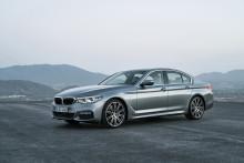 HELT NYA BMW 5-SERIE SEDAN
