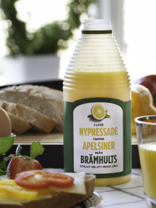 Brämhults apelsinjuice Bäst i Test - igen!