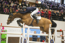 Svenske mästaren klar för Gothenburg Horse Show