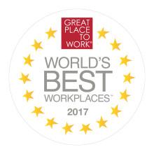 DHL Express kåret til en av verdens beste arbeidsplasser i 2017